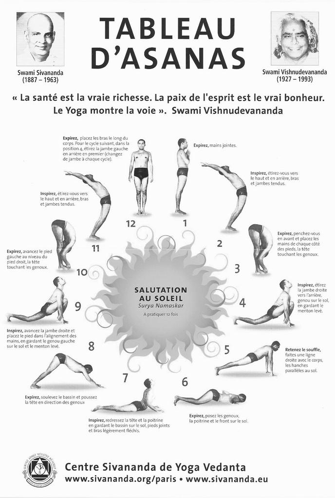 Populaire La Salutation au Soleil expliquée - Anaïs Yoga QC59