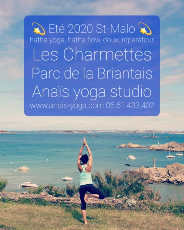 Yoga été 2020 saint-malo