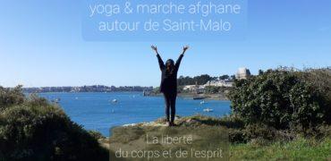 yoga et marche afghane