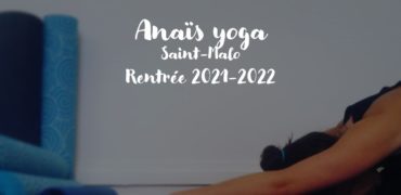 rentrée 2021 2022 yoga